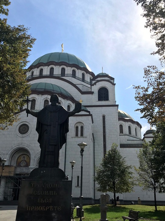 Serbien - Belgrad - Temple of Sava | 3rd biggest Orthodox Church