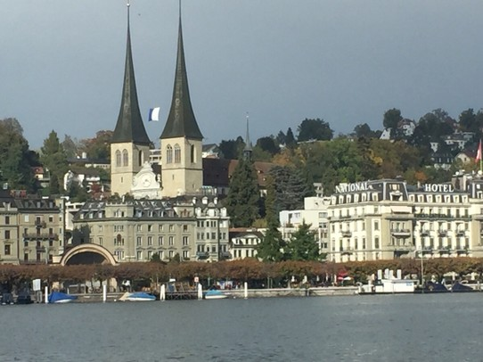 Station 1 -  - Lovely Luzern!  With beautiful Buildings im Gründerstil