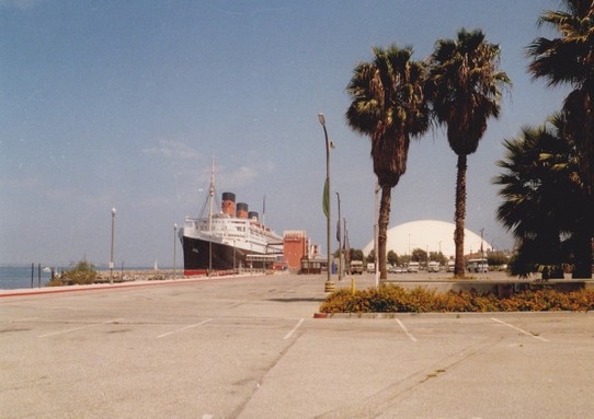 USA - Long Beach Island - MSS Queen Mary als Museum