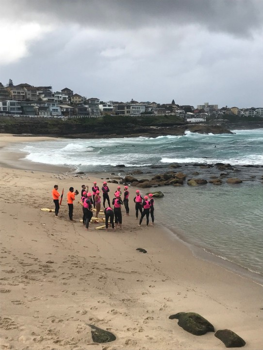 Australien - Bronte - lifeguard training