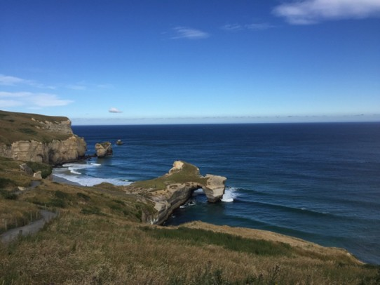 Neuseeland - Tunnel Beach -