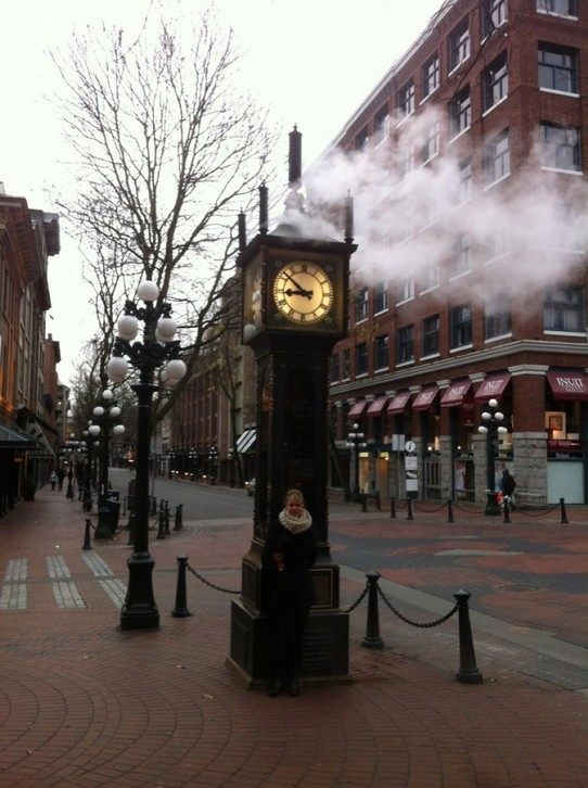 Kanada - Vancouver - Steam clock in Gastown