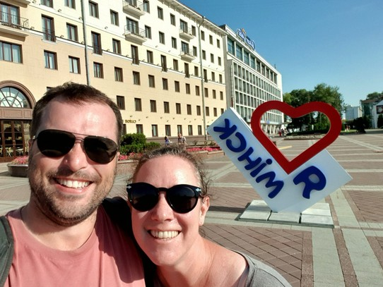 Belarus - Minsk - We finally found another I love...