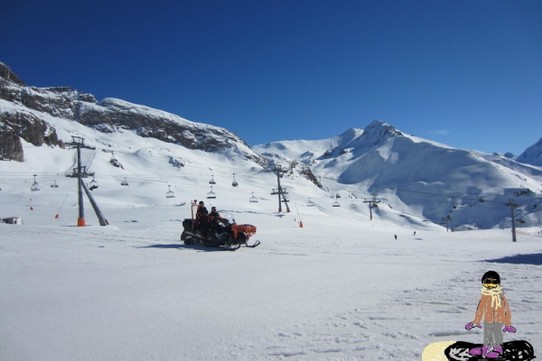 Österreich - Ischgl - they controll the pistes...
