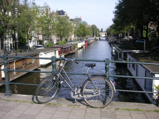Niederlande - Amsterdam - Life on the water