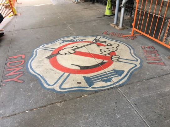 United States - New York - When there's something strange in your neighborhood, who you gonna call?