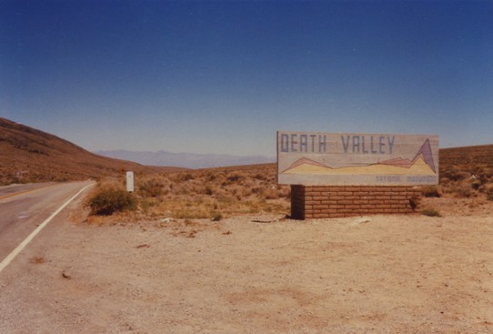 United States - Death Valley National Park - Death Valley ist ein Teil der Mojave-Wüste, 40° C