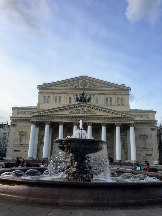 Russia - Moscow - Bolshoi Theatre.