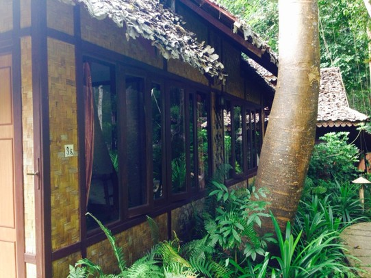 Thailand - Mae Hong Son - Unser Bungalow - Fern Resort