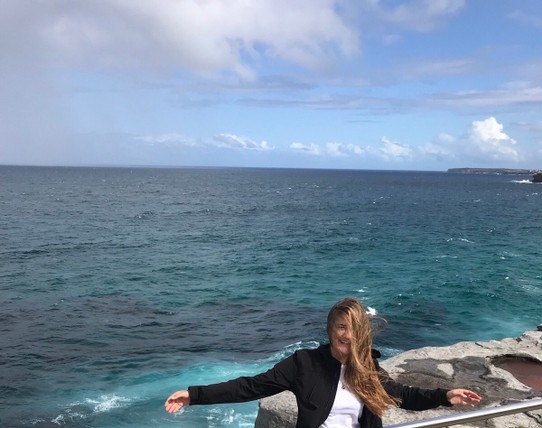 Australien - Bronte - little bit windy