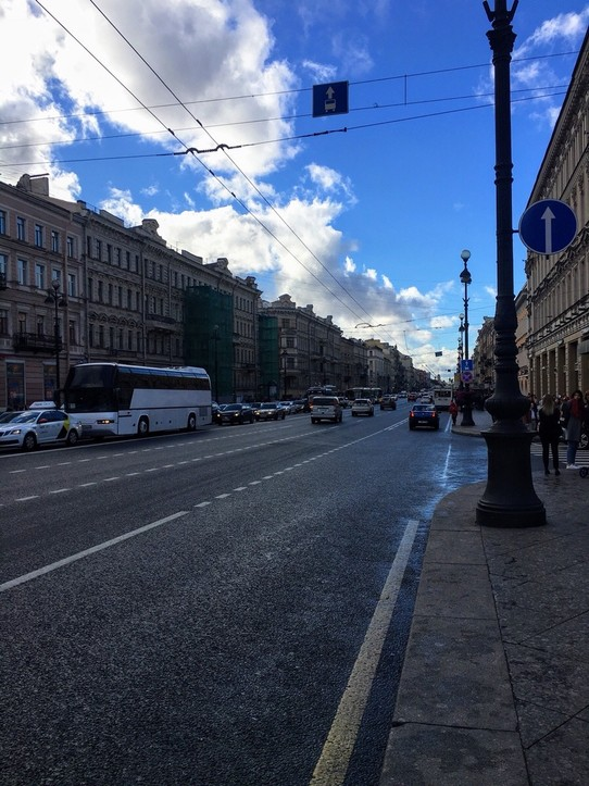 Russia - Saint Petersburg - Nevsky avenue