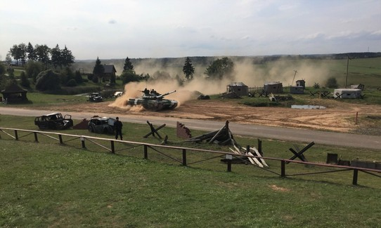 Belarus - Minsk - The T72 Tank Biathlon