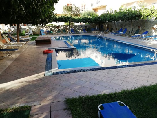 Griechenland - Matala - Hotel Pool