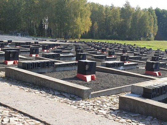 Belarus - Minsk - A memorial to the villages and villagers destroyed, and never rebuilt - Khatyn Memorial