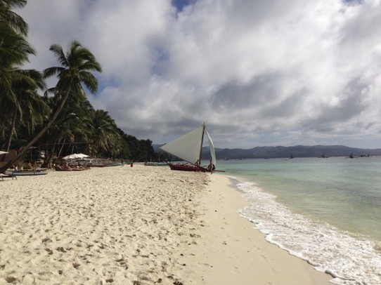 Philippinen - Boracay - The famous White Beach