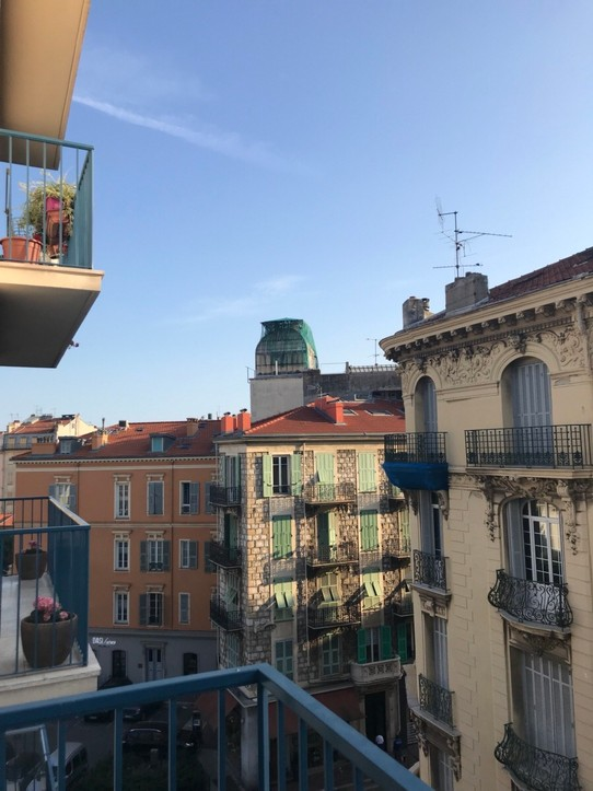 France - Nice -  View from Longchamp apartment