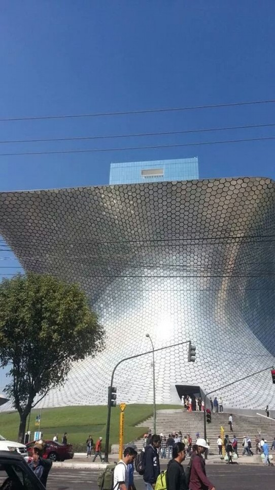 Mexico - Mexico City - Soumaya Museum-owned by Carlos Slim-2nd richest man in the world