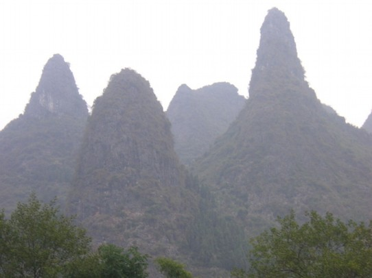 China - Guilin - Karstberge am Li