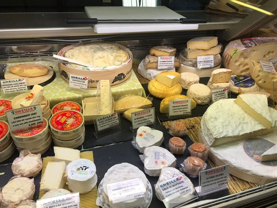 Frankreich - Biarritz - Fromage fromage
