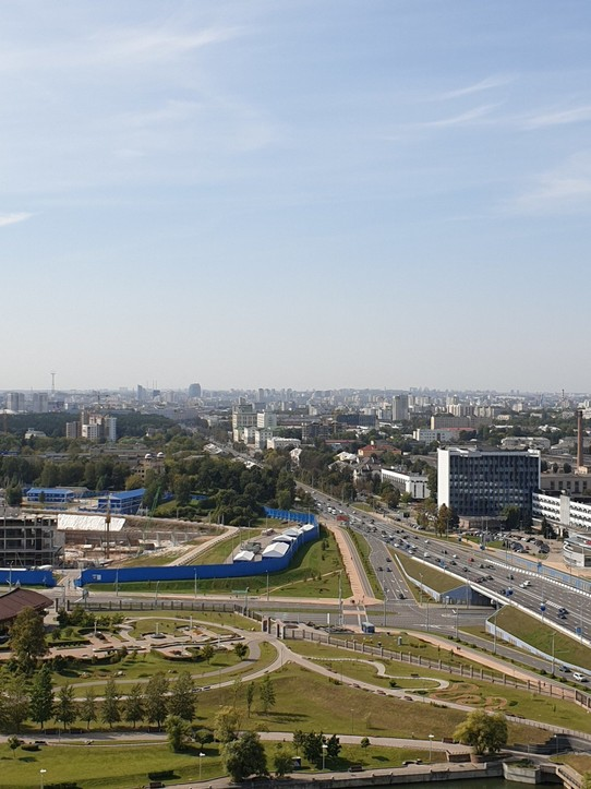 Belarus - Minsk - View from the Library