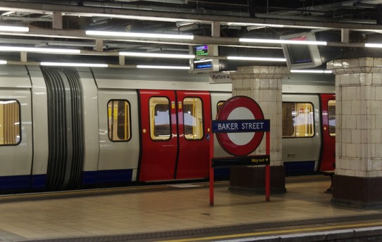 United Kingdom - London - el metro en Londres