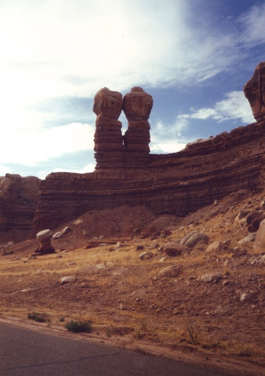 United States - Navajo Nation Reservation - The Navajo Twin Rocks