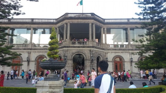 Mexico - Mexico City - Chapultepec Castle-film location of Romeo and Juliet-Leonardo dicapprio