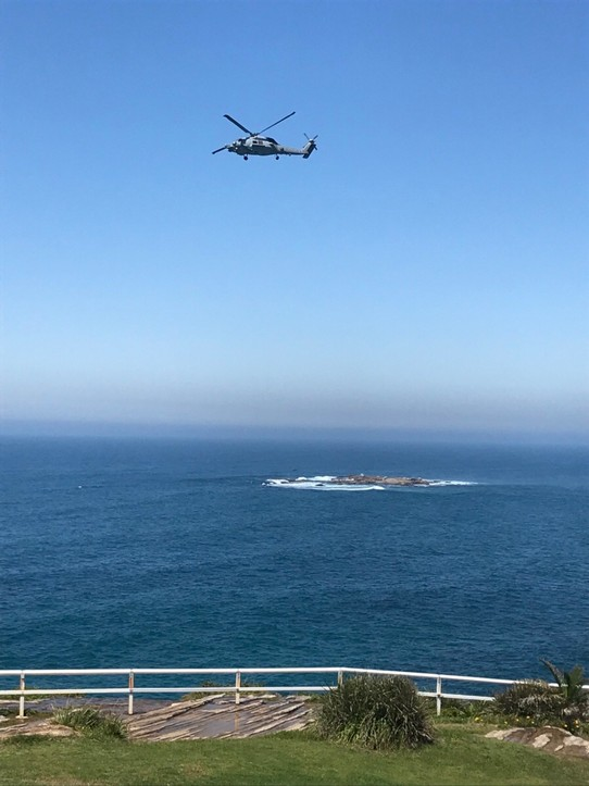 Australien - Coogee - saved by helis
