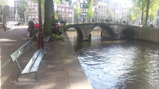 The Netherlands - Amsterdam - Fault in Our Stars- Bench Scene