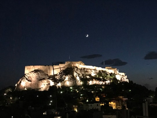 Greece - Athens - View from our hotel bar
