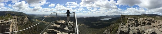 Australien -  - Pinnacle Lookout