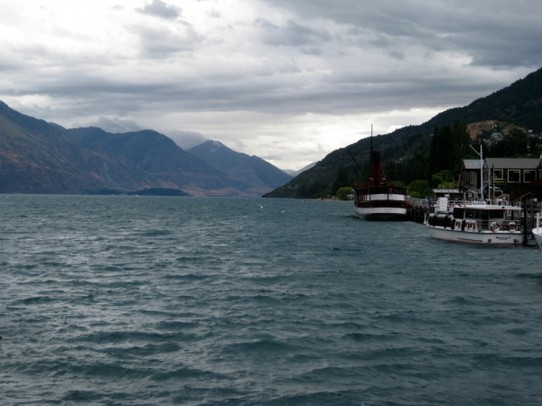 Neuseeland - Queenstown - Lake Wakatipu