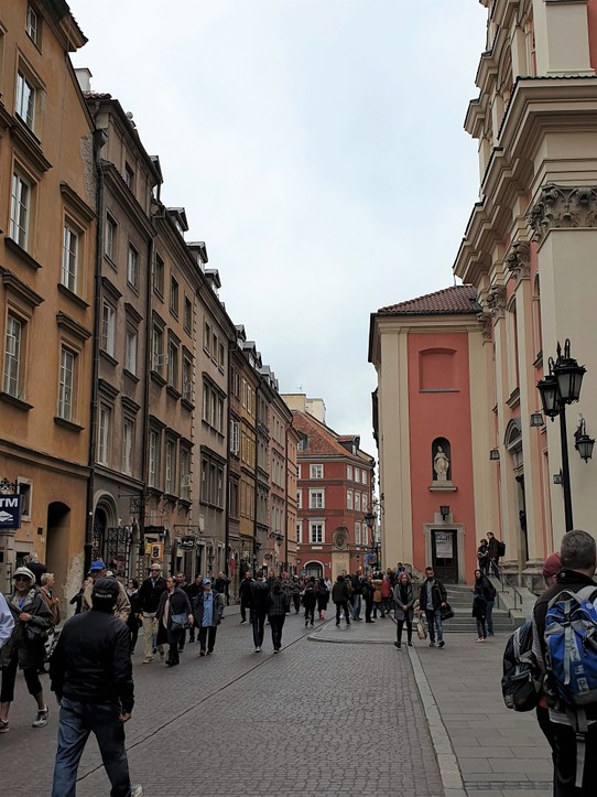 Poland - Warsaw - The old town