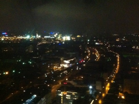 Russian Federation - Moscow - Blick auf Moscow aus der SkyBar des Swissotel