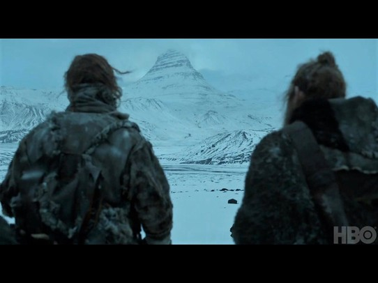 "Island - Grundarfjörður - Game of Thrones: ""The Hound had a vision of a mountain shaped like an arrowhead"""